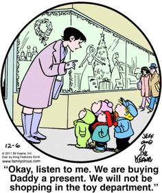 I know this is supposed to be a funny comic but the little kids look so precious with the way they are looking up at their mom :)