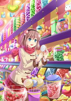 Candy Shop by Villyane.deviantart.com on @deviantART