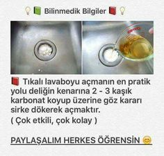Neşe'nin gözdeleri House Cleaning Tips, Cleaning Hacks, Natural Flu Remedies, Tikal, Interesting Information, Diet And Nutrition, Holidays And Events, Housekeeping, Clean House