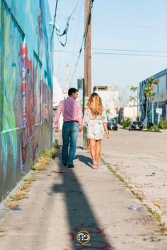 Walls of Wynwood - Engagement photos in Graffiti Land by Award Winning Miami wedding Photographer #ezekiele #fineartphotography #miamiphotographer #miamiweddingphotographers