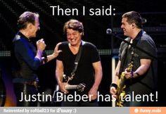 Van Halen Eddie Van Halen Justin Bieber no talent / iFunny :)
