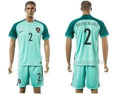 http://www.xjersey.com/portugal-2-bruno-alves-away-euro-2016-soccer-jersey.html PORTUGAL 2 BRUNO ALVES AWAY EURO 2016 SOCCER JERSEY Only 33.11€ , Free Shipping!