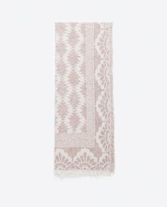 JACQUARD SCARF - View all - Accessories - WOMAN | ZARA Netherlands