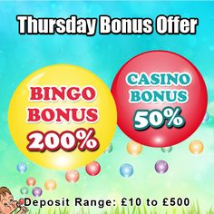 Visit #GameVillage for an incredible #bonus offer and have some #ThursdayFun  Choose from either of the two #bonus offers and play more of your favorite #bingo or #casino games.  Deposit now https://www.gamevillage.com/ now   Validity : 21st April, 2016  For Bonus & Withdrawal Rules visit https://www.gamevillage.com/terms-and-conditions