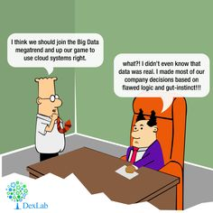 #Dilbert does not trust his boss's flawed logic for making decisions!