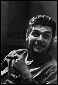 Che Guevara, Havana 1964 by Elliot Erwitt