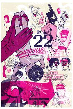 Morning Breath Inc. Collage Poster Illustration