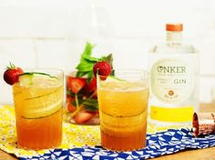 Game, set and match with our #ConkerGin tipple!