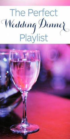 Good advice, not crazy about the playlist. 50 songs for your cocktail hour and wedding dinner music! Unique and romantic Wedding Dinner Music, Wedding Song List, Best Wedding Songs, Yacht Wedding, Wedding Playlist, Wedding Dj, Perfect Wedding, Wedding Ideas, Wedding Music Playlists