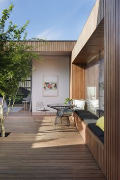 The best residential interior decoration of 2015: Matt Gibson Architecture + Design for Courtyard House, Vic See the finalists for the 'residential design' category here.