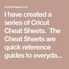 Newest Pictures I have created a series of Cricut Cheat Sheets. The Cheat Sheets are quick refer. Concepts I have created a series of Cricut Cheat Sheets. The Cheat Sheets are quick reference guides to ever Cricut Air 2, Cricut Help, Cricut Vinyl, Vinyl Art, Circuit Machine, Cricut Cuttlebug, Cricut Tutorials, Cricut Ideas, Cricut Craft Room