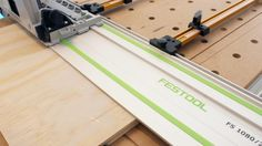 If you have or are planning to build an MFT Festool style table these rip guides for parallel sheet goods cutting are strong and accurate.