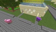 Orphea2012 Youtube et Minecraft: Map déco Minecraft | Y'a la queue devant la boutiq...