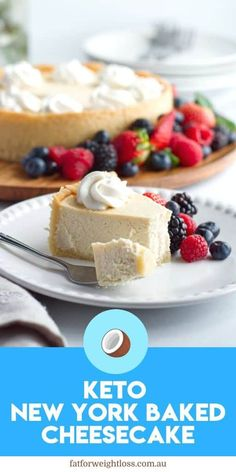 Looking for the perfect baked keto cheesecake recipe? This one has stood the tes. Looking for the perfect baked keto cheesecake recipe? This one has stood the test of time recreating an authentic new york baked cheesecake all in one simple easy recipe Best Keto Cheesecake Recipe, New York Baked Cheesecake, Low Carb Cheesecake, Low Carb Desserts, Low Carb Recipes, Dessert Recipes, Dinner Recipes, Easy Recipes, Salad Recipes