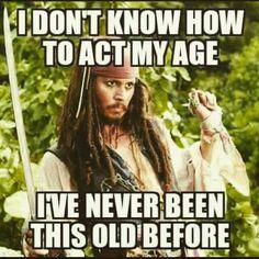 I am not a man and I am not a pirate, but this made me chuckle a little.