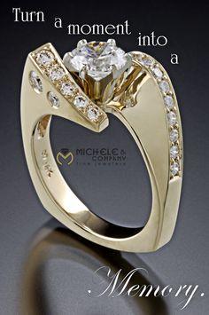 Award winning design by Michele Rohn of Michele & Company Fine Jewelers.  michele-co.com