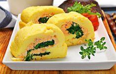 Peixe: Torta de batata com salmão e espinafre