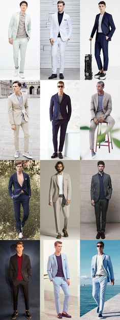Men's Go-To Smart-Casual Summer Outfit Combinations: T-Shirt/Polo Shirt and Suit… Indian Men Fashion, Mens Fashion Suits, Men's Fashion, Summer Fashion Outfits, Casual Summer Outfits, Mens Summer T Shirts, Classy Suits, Outfit Combinations, Men Casual