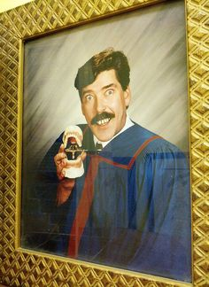 Despite his nitrous addiction, Carl still managed to graduate dental school in just 9 years.
