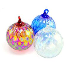 Patriotic Ornaments in Red White and Blue!