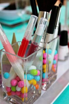 Sunny Sweet Life: Sweet Spa Party-so need to remember this for when the girls get a bit older!