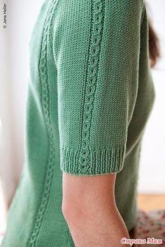Ravelry: Sylvatica pattern by Robin Melanson Knitting Machine Patterns, Knitting Stitches, Knit Patterns, Hand Knitted Sweaters, Knitted Hats, Knitting Baby Girl, Knit Fashion, Crochet Clothes, Knit Crochet