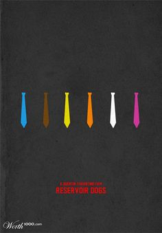 Reservoir Dogs Poster 10 Greatest Ever Minimalist Movie ads ads commercial ads commercial ads Old Movie Posters, Minimal Movie Posters, Minimal Poster, Movie Poster Art, Simple Poster, Reservoir Dogs Poster, Famous Hollywood Movies, Christian Names, Planer Layout