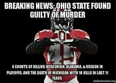 Ohio State Found Guilty of Murder