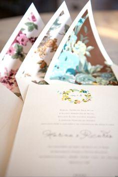 Convite Floral: Chá das Duas