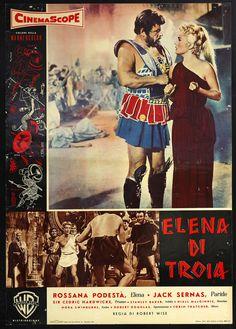 CINEMA-fotobusta ELENA DI TROIA e. podestà, b. bardot WISE