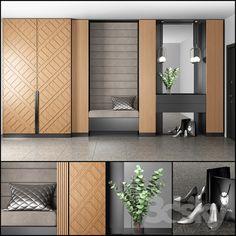 Wardrobe Door Designs, Wardrobe Design Bedroom, Wardrobe Doors, Tv Wall Design, Hall Design, Indian Bedroom Design, Flush Door Design, Alcove Cabinets, Home Entrance Decor