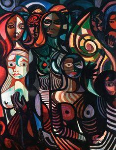 Mulheres Facetadas - 1968 Mangue Di Cavalcanti                                                                                                                                                                                 Mais
