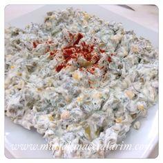 Mutfak Maceralarım: Labneli Taze Fasulye Salatası