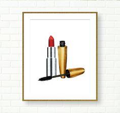 Fashion Wall Decor gold shoes print, printable, wall decor art, poster, fashion