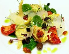 Violet Artichokes Salad with Mint and Pecorino di Fossa | Le Marche and Food | Scoop.it