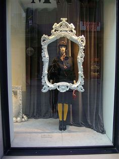 Window Display. #retail #merchandising #frame