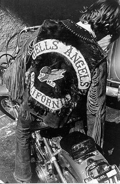 hells angels- CALIFORNIA original patch design.  Not as intimidating.