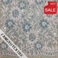 2016 Hot Sell Jacquard Knitting Lace Fabric