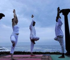 #Health is all about nourishing your spirit as well as your body and #Yoga at #Niraamaya #Retreats at #Kovalam #Kerala - A #RareIndia #retreat is a perfect place to #unwind and seek your soul! Explore More: http://bit.ly/1tdkOmx
