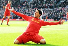 Liverpool moved to the top of the Barclays Premier League with a resounding victory over Tottenham Hotspur at Anfield. Goals from Luis Suarez, Philippe Liverpool Football Club, Liverpool Fc, Fifa, Rio 2014, Liverpool Wallpapers, This Is Anfield, Transfer Window, You'll Never Walk Alone, Rio De Janeiro