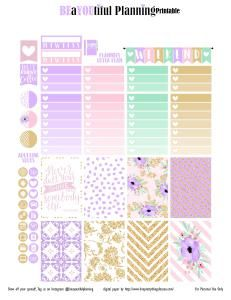 Shine Planner Stickers