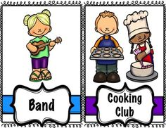 These School Clubs Posters Are Perfect For Your Extracurricular Bulletin Board ASCA Mindsets And Behaviors
