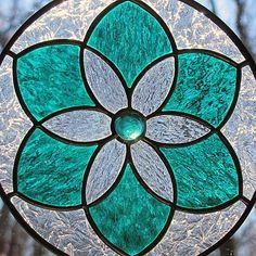 Image result for stained glass flower suncatchers