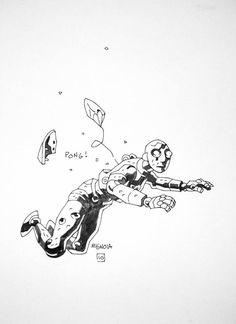 Mignola - New Screw-On Head Sketch