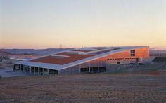 Valdemingomez Waste Treatment Centre /  Iñaki Abalos Vázquez Recycling Plant, Industrial Architecture, Studio, World, Outdoor Decor, Plants, Factories, Real Madrid, Chile