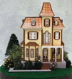 Dollhouse- The Beacon Hill 1/144th Scale Micro Mini Lighted Miniature