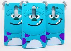 Guili Guili Fundas y Accesorios Para Smartphone y Celulares: Funda Silicon Sulley Lg G3 Stylus Goma Suave - Kichink!