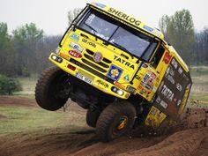 Tatra Dakar race truck