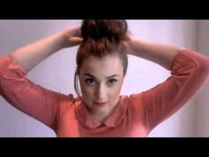 How To Do A Topknot on Short Hair // ghostparties