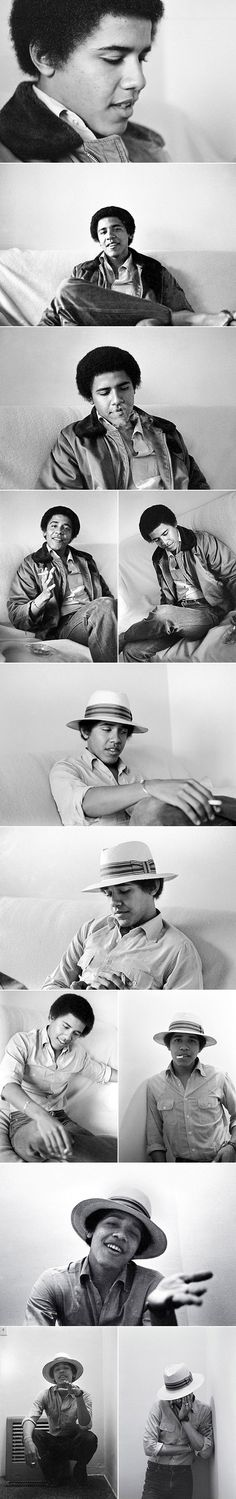 How could anyone vote for this guy?  LOOK AT THESE PICS.  NARCISSIST TOKER HAT-WEARING IDIOT IN CHIEF.